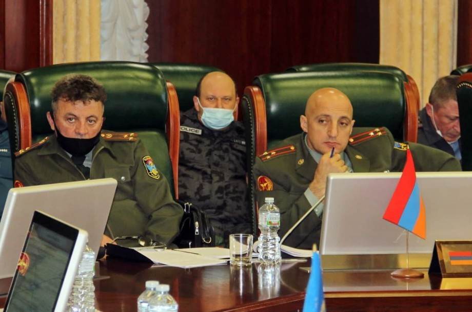 В Объединенном штабе ОДКБ прошли первые переговоры по подготовке совместных учений