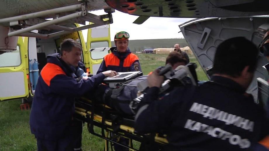 Трое туристов пострадали в результате камнепада в Кабардино-Балкарии