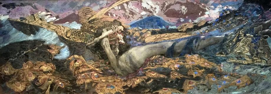 «Это дьявол делает с моими картинами»: как Врубель писал Демона поверх Распятия и умер от сифилиса в