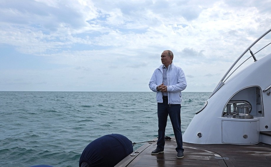Путин и Лукашенко совершили морскую прогулку