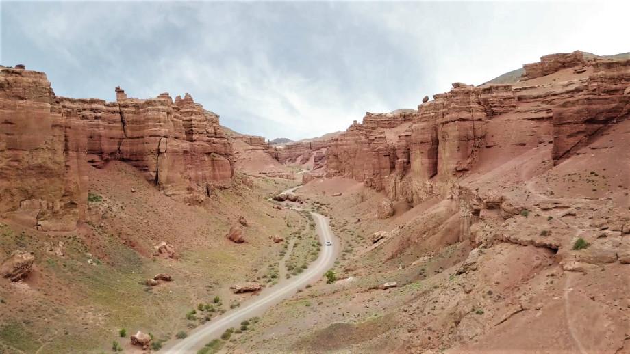 Чарынский каньон: инопланетные пейзажи Казахстана