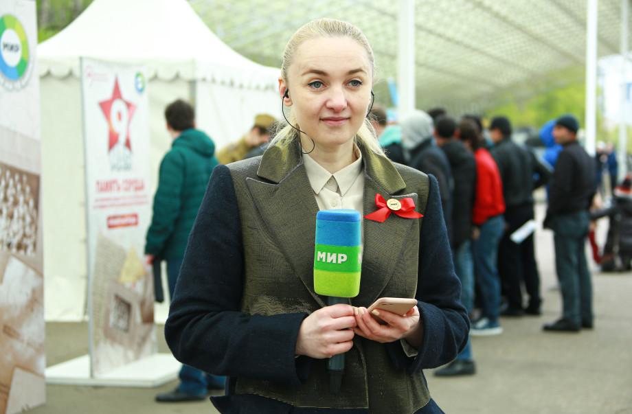 «Память сердца»: «МИР» проводит в Москве акцию ко Дню Победы