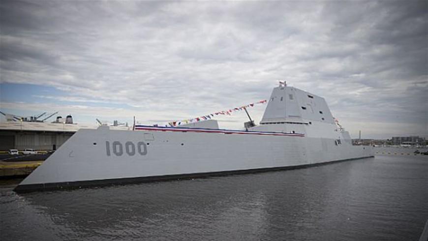 В Панамском канале в третий раз сломался суперэсминец США