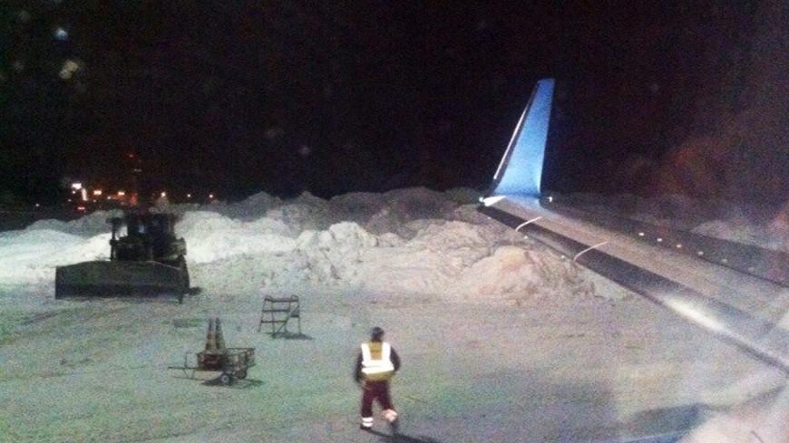 Снегопад почти не повлиял на работу московских аэропортов