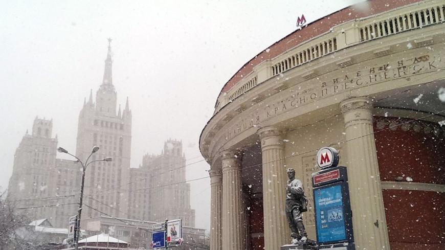 В Москву вновь вернулась зима