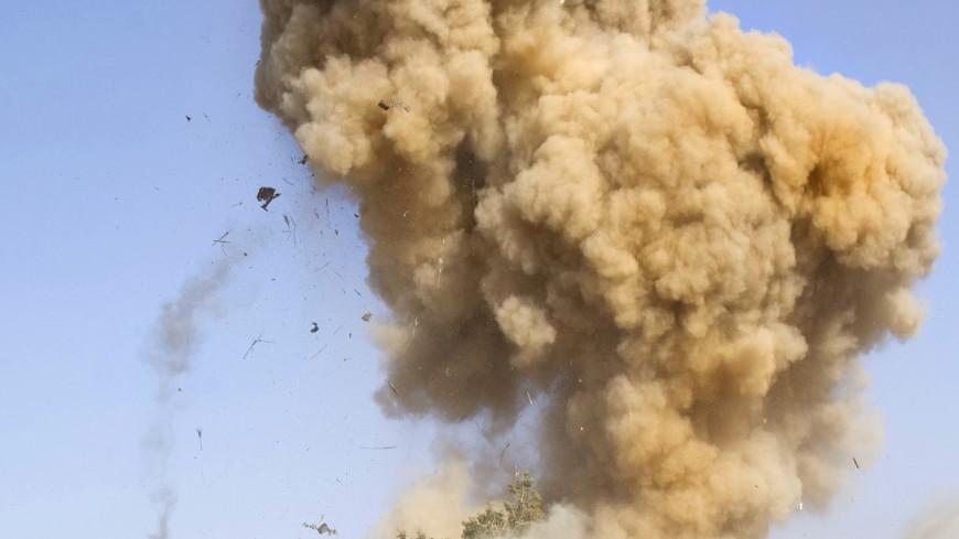 В Нальчике взорвали бомбу весом 250 килограммов