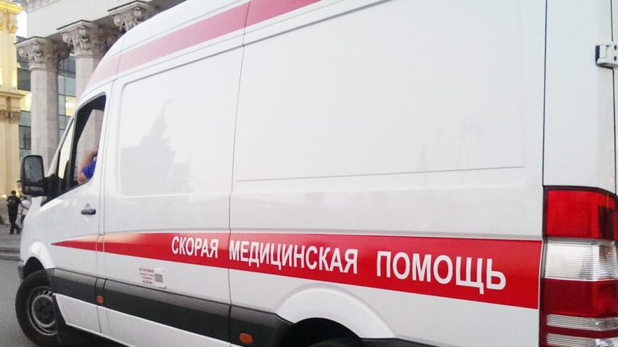 В новой Москве столкнулись легковушки: пострадали дети