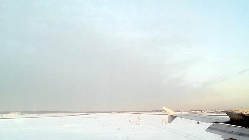 Самолет выкатился за пределы ВПП в Казани