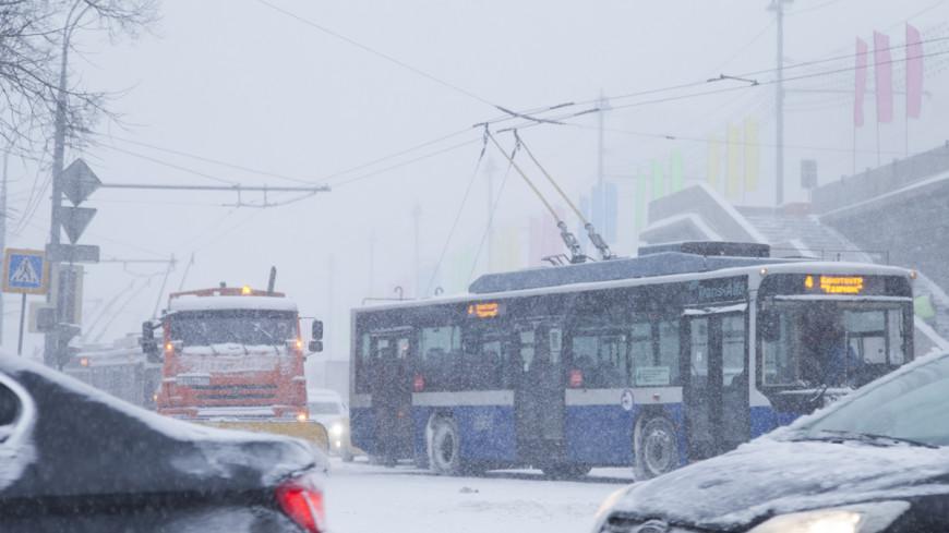Во вторник в Москву придет снегопад