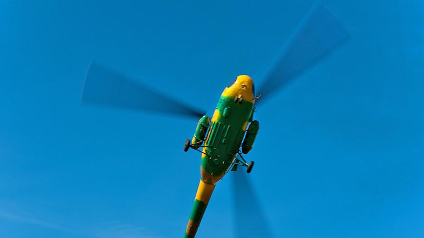 На Кубани рухнул вертолет Ми-2: погибли двое