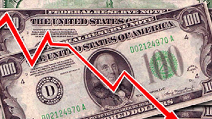 Курс доллара на бирже упал ниже 53 рублей
