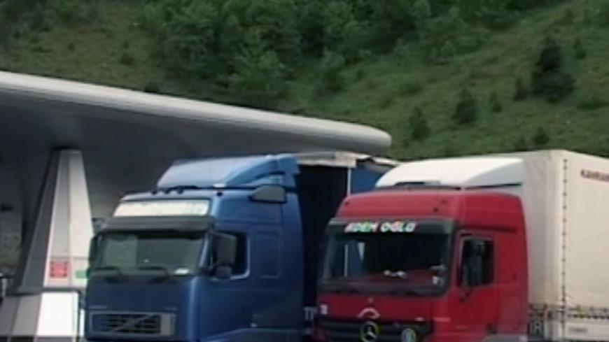 Десятый гумконвой выехал в Донбасс
