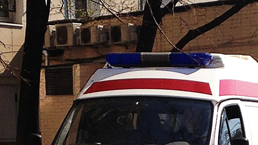 При крушении вертолета в Казахстане пострадал человек