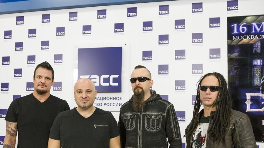 Легендарные Disturbed представили в Москве новый альбом