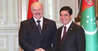 Лукашенко и Бердымухамедов запустили калийный завод в Туркменистане