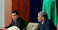 О чем договорились Атамбаев и Бердымухамедов