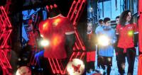 Презентацию формы сборной России по футболу превратили в шоу