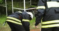 Глава МЧС России открыл в Москве памятник погибшим пожарным