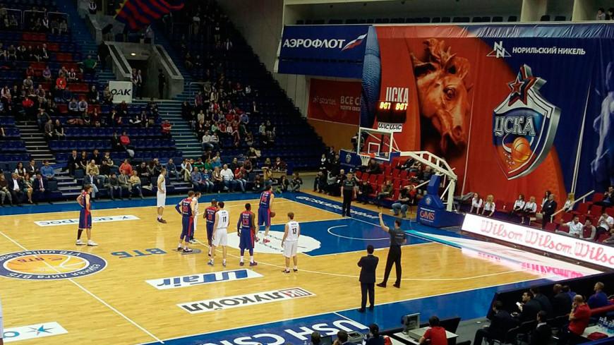 ЦСКА стал первым финалистом баскетбольной Евролиги