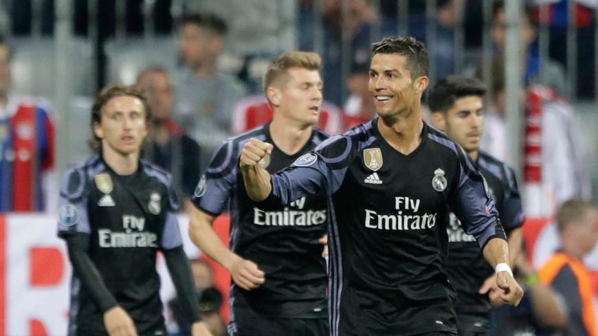 «Реал» вышел в полуфинал футбольной Лиги чемпионов