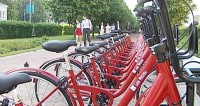 Этим летом москвичи два миллиона раз ездили на прокатных велосипедах