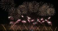 Море огня и красок: финал фестиваля фейерверков в Москве