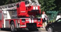 Крупный пожар охватил кафе в центре Шымкента