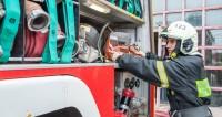Пожар на производстве в Кемерове охватил тысячу «квадратов»
