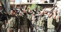 Сирийская армия разбила террористов близ Евфрата