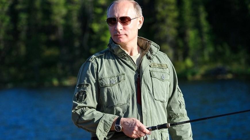 Путин выкроил время на рыбалку в Сибири