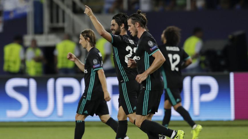 Реал обыграл МЮ в матче за Суперкубок УЕФА