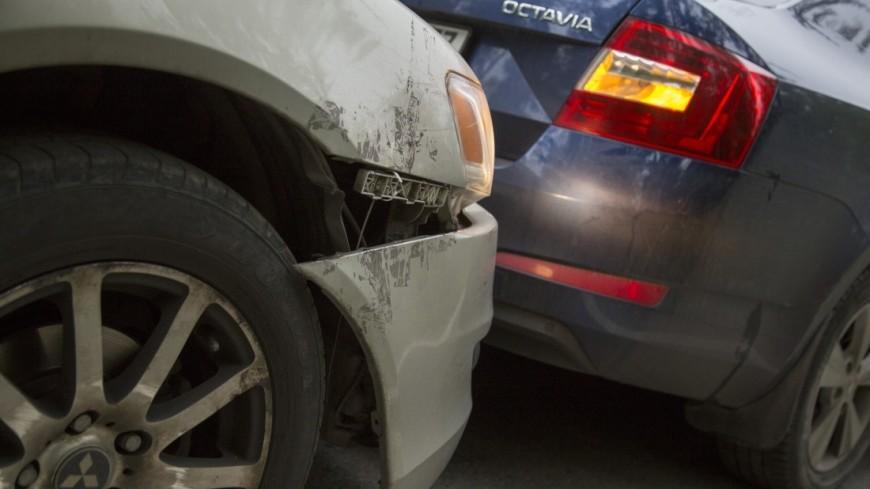 Шесть авто  столкнулись насеверо-западе столицы