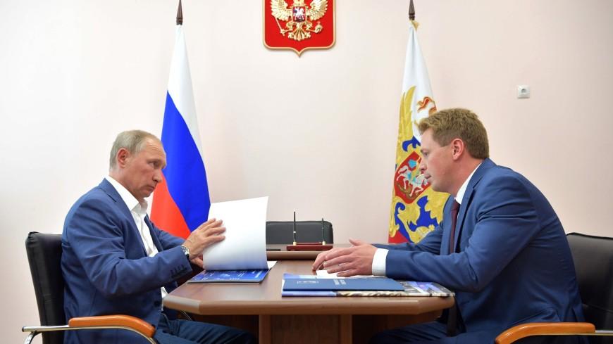 Путин привез вСевастополь папку сжалобами местных граждан