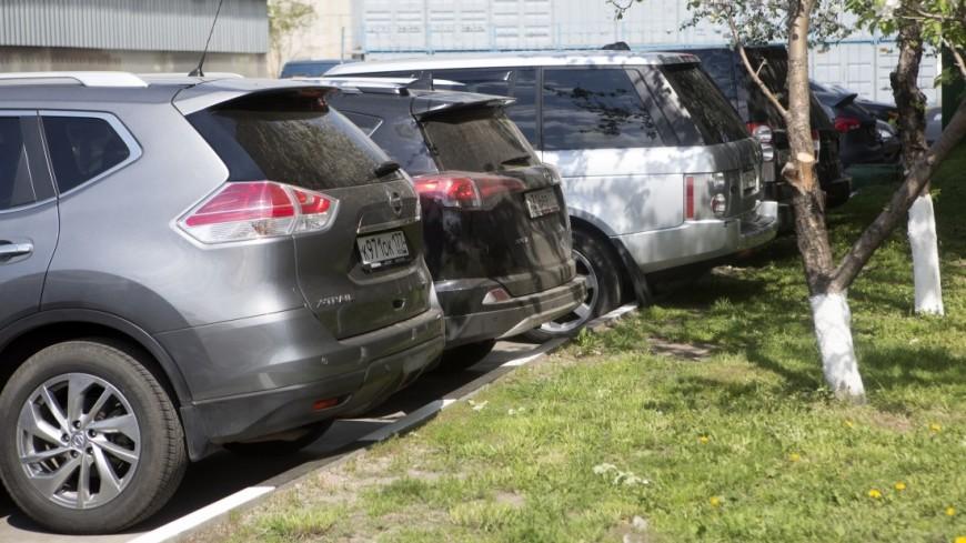 Неизвестные скамнями ибитами разгромили два парковочных комплекса вцентральной части Москвы