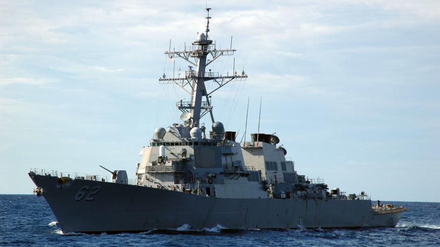 ВМС США объявили онаказании экипажа столкнувшегося сконтейнеровозом эсминца