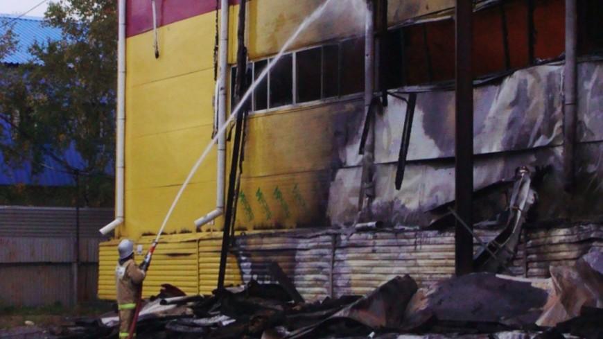 В Ереване вспыхнул каучуковый завод