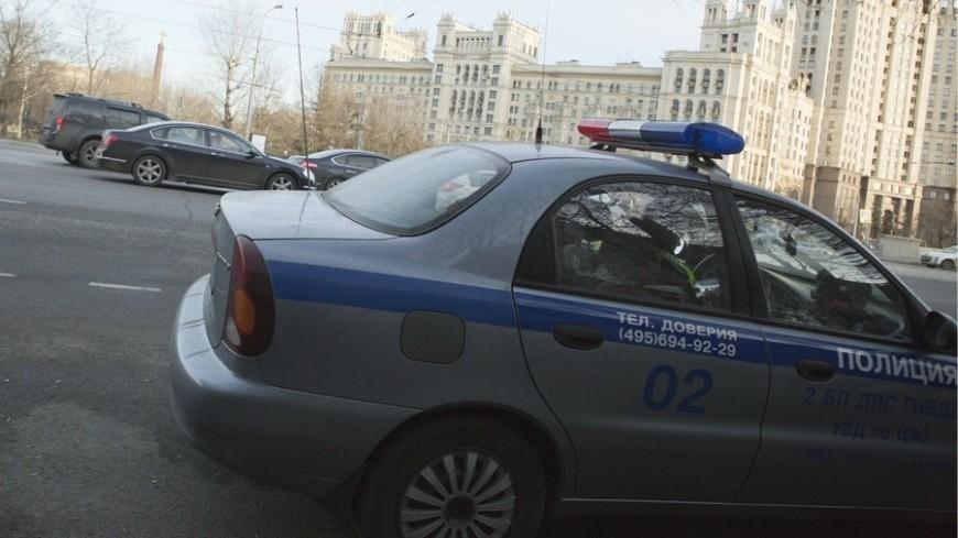 Вцентре столицы фургон врезался втолпу пешеходов