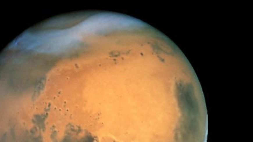 Ночью наМарсе идёт снег— Ученые