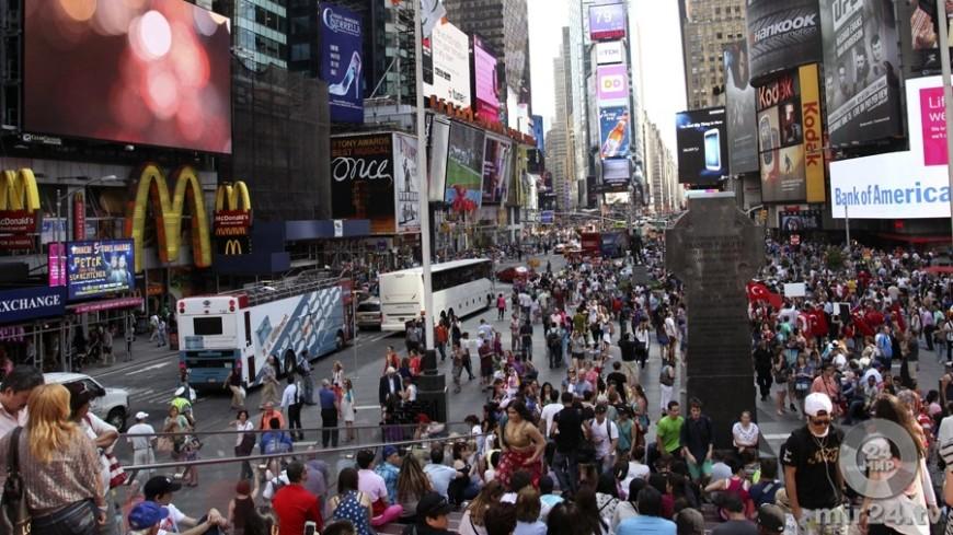 СМИ: при стрельбе в центре Нью-Йорка пострадали пять человек