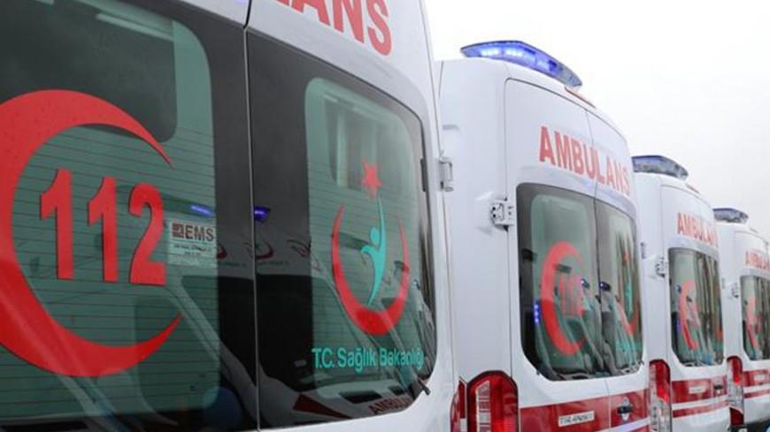 "Фото: ""Министерство здравоохранения Турции"":https://www.saglik.gov.tr/, скорая турция"