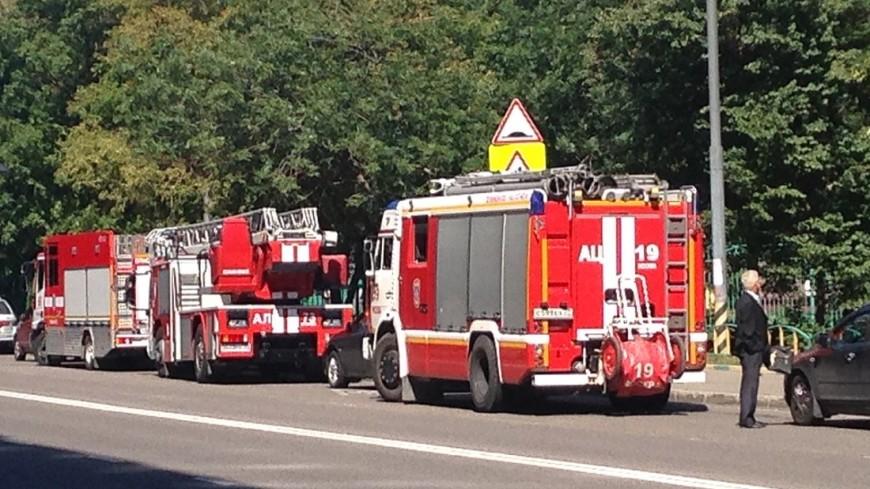 Пожар в Ростове-на-Дону локализован
