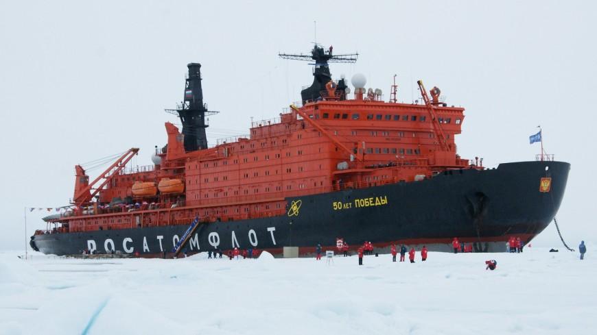 Ровно 40 лет назад атомный ледокол «Арктика» достиг Северного полюса