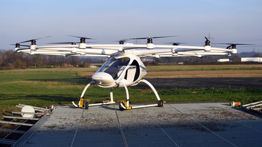 Daimler вложился в стартап беспилотных такси Volocopter