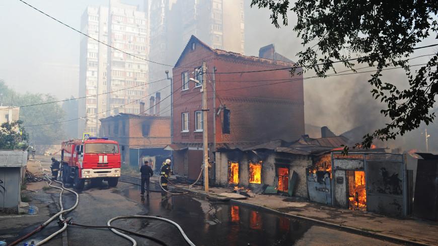 Число раненых во время пожара в Ростове выросло до 45 человек