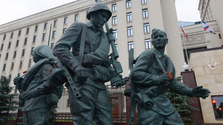 В столице России задержали подозреваемых восквернении монумента «Они воевали заРодину»