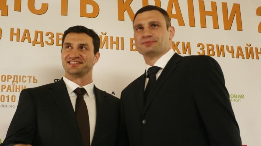 Владимир Кличко сравнил Макгрегора со своим братом