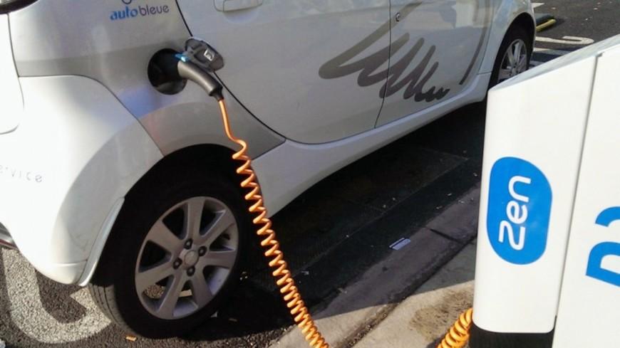Накарте парковок столицы появились зарядки для электромобилей