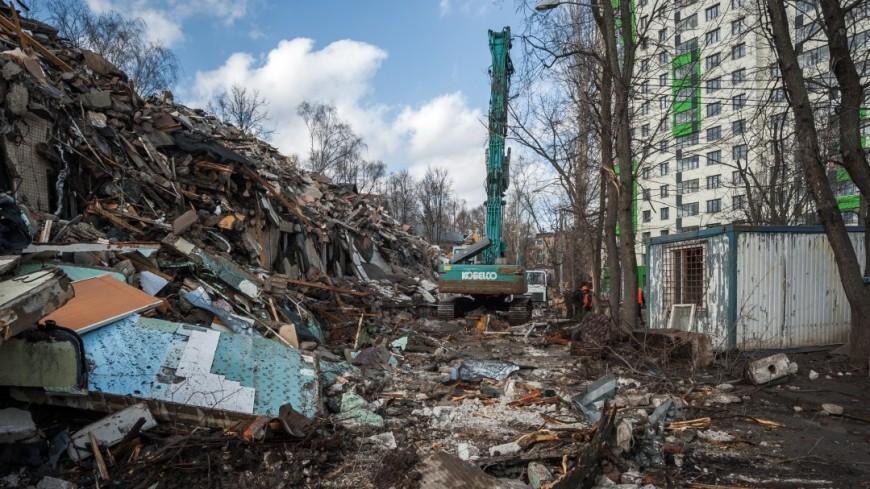Наюго-западе столицы выбрали 38 стартовых площадок для программы реновации