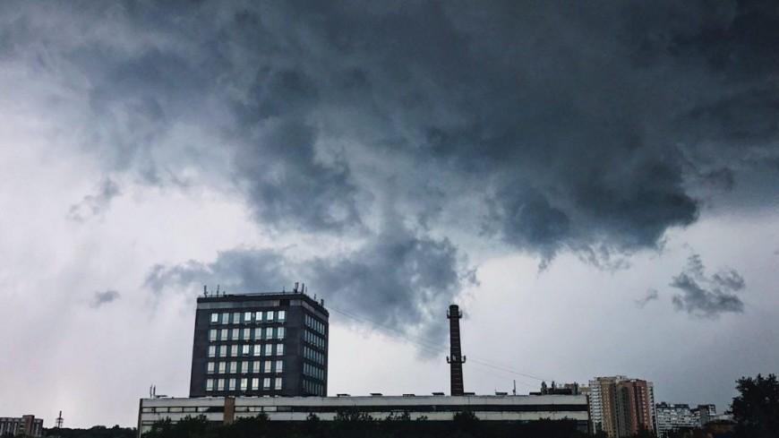 Грозы град ветер непогода надвигается на Центральную Россию
