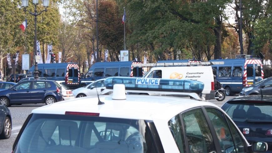 В Париже полиция задержала 40 демонстрантов и применила слезоточивый газ